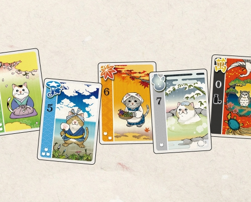Festival of Thousand Cats - Cards